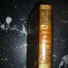 Diccionarios antiguos: THESAURUS HISPANO -LATINUS BARTOLOMAEO BRAVO 1797 COMPLUTI -ALCALA . Lote 146777626
