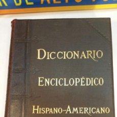 Diccionarios antiguos: DICCIONARIO ENCICLOPÉDICO HISPANO-AMERICANO TOMO 6 - MONTANER Y SIMON - 1890. Lote 147231750