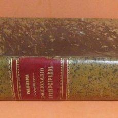 Diccionarios antiguos: DICCIONARIO LATINO-ESPAÑOL D. MANUEL VALVUENA LIBRERIA DE GARNIER HERMANOS PARIS AÑO 1873 EXCELENTE. Lote 147773342