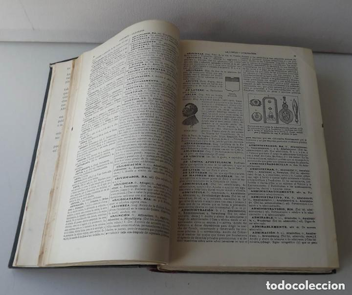 Diccionarios antiguos: Diccionario Enciclopédico Abreviado, Espasa-Calpe, 3 tomos, edición de 1933 - Foto 5 - 197765941