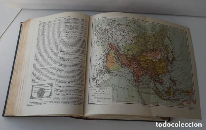 Diccionarios antiguos: Diccionario Enciclopédico Abreviado, Espasa-Calpe, 3 tomos, edición de 1933 - Foto 6 - 197765941