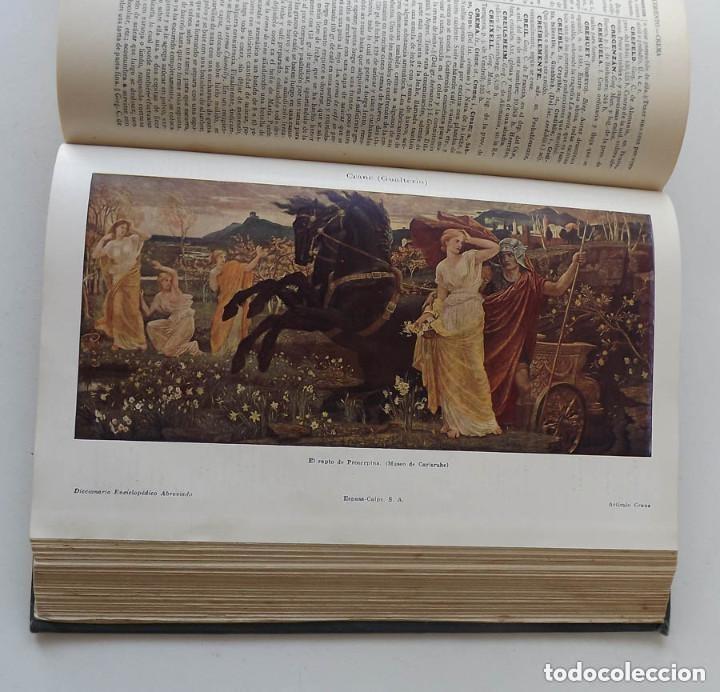 Diccionarios antiguos: Diccionario Enciclopédico Abreviado, Espasa-Calpe, 3 tomos, edición de 1933 - Foto 8 - 197765941