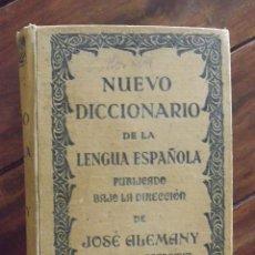 Diccionarios antiguos: NUEVO DICCIONARIO DE LA LENGUA ESPAÑOLA, JOSÉ ALEMANY, 1ª EDICIÓN 1937. Lote 147950766