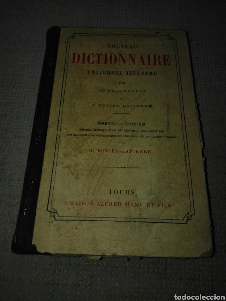 Diccionarios antiguos: GUERIN PAUL - BOVIER LAPIERRE G. NOUVEAU DICTIONNAIRE UNIVERSEL ILLUSTRE . Tours. aprox. 1903. - Foto 2 - 148598312