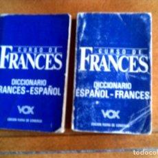 Livres anciens: DICIONARIO FRANCES ESPAÑOL Y ESPAÑOL FRANCES ,DE VOX. Lote 148934594