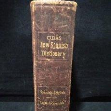 Diccionarios antiguos: CUYÅS NEW SPANISH DICTIONARY .1920 . IMPRESO EN EE UU.. Lote 149818830
