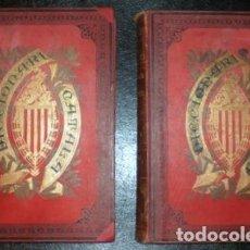 Diccionarios antiguos: LABERNIA Y ESTELLER, PERE: DICCIONARI DE LA LLENGUA CATALANA. 2 VOLS. (1888-92). Lote 150134234