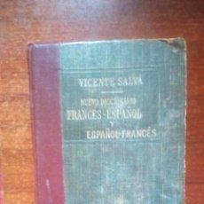 Diccionarios antiguos: DICCIONARIO VICENTE SALVA ESPAÑOL FRANCES. Lote 151287434