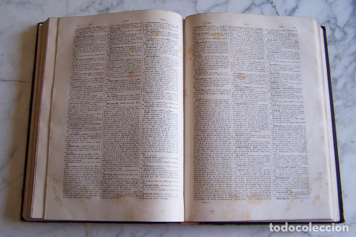 Diccionarios antiguos: DICCIONARIO DE LAS LENGUAS ESPAÑOLA Y FRANCESA. TOMOS I Y II. MONTANER Y SIMÓN, 1885- 86. - Foto 4 - 151376302