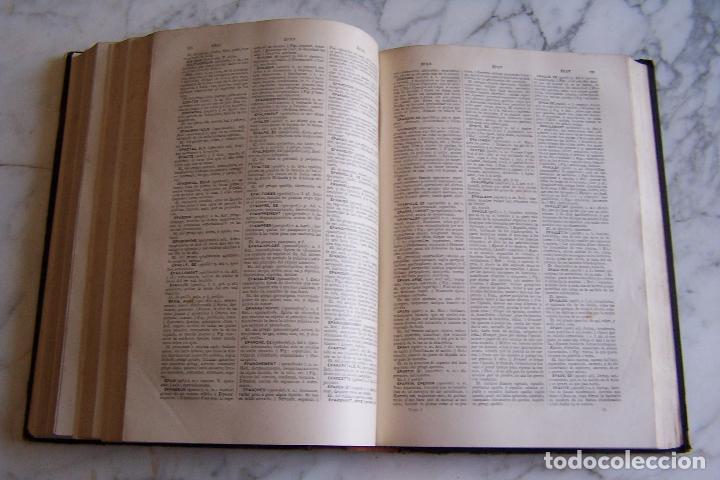 Diccionarios antiguos: DICCIONARIO DE LAS LENGUAS ESPAÑOLA Y FRANCESA. TOMOS I Y II. MONTANER Y SIMÓN, 1885- 86. - Foto 5 - 151376302