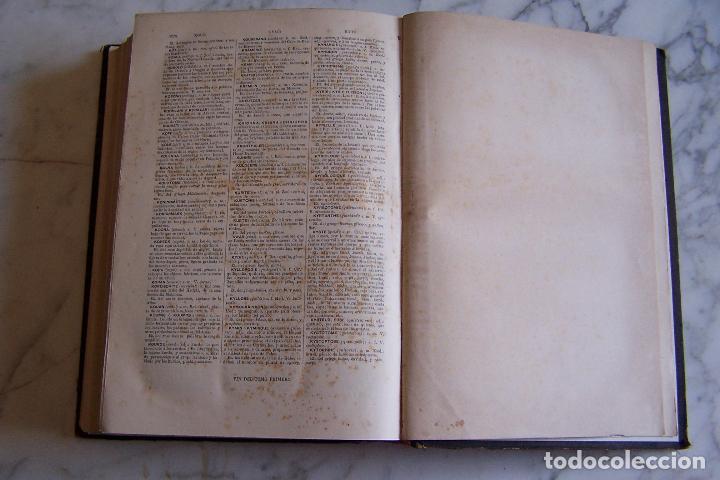 Diccionarios antiguos: DICCIONARIO DE LAS LENGUAS ESPAÑOLA Y FRANCESA. TOMOS I Y II. MONTANER Y SIMÓN, 1885- 86. - Foto 6 - 151376302