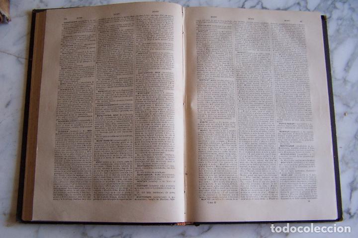 Diccionarios antiguos: DICCIONARIO DE LAS LENGUAS ESPAÑOLA Y FRANCESA. TOMOS I Y II. MONTANER Y SIMÓN, 1885- 86. - Foto 8 - 151376302
