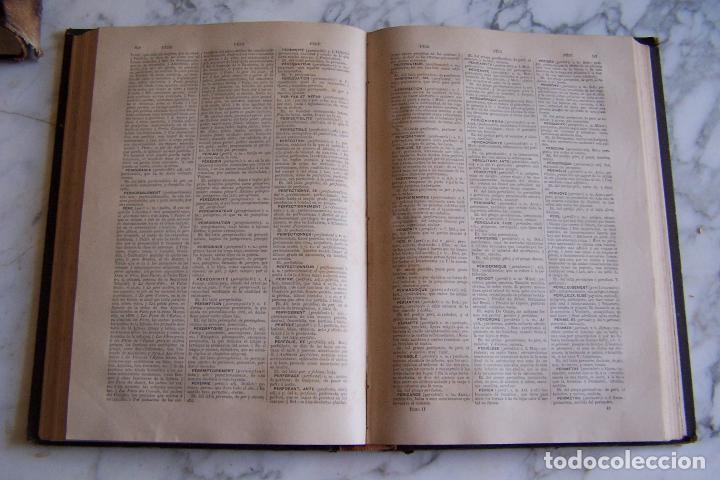 Diccionarios antiguos: DICCIONARIO DE LAS LENGUAS ESPAÑOLA Y FRANCESA. TOMOS I Y II. MONTANER Y SIMÓN, 1885- 86. - Foto 9 - 151376302