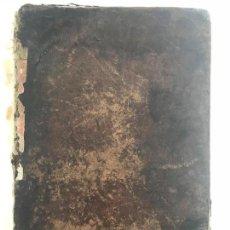 Diccionarios antiguos: DICCIONARIO LATINO - ESPAÑOL VALBUENA REFORMADO. MADRID 1862 . Lote 151408606