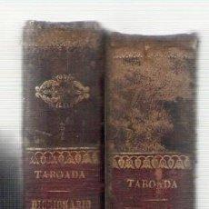 Diccionarios antiguos: NUMULITE L0755 DICCIONARIO FRANCÉS ESPAÑOL NÚÑEZ DE TABOADA TOMO I Y II AÑO 1963 . Lote 151447882