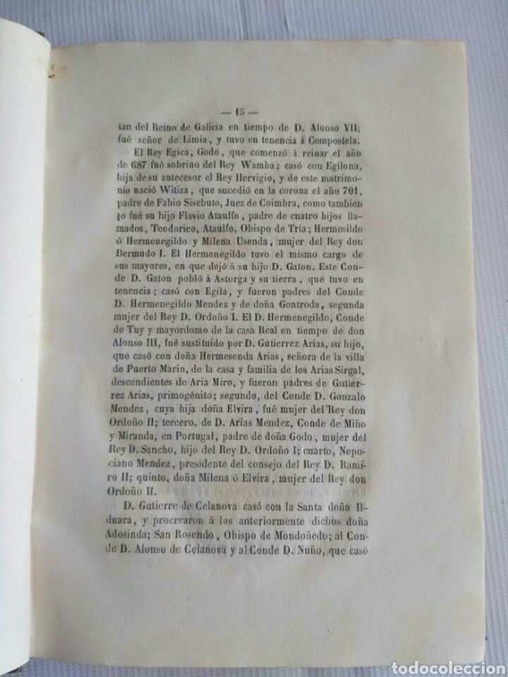 Diccionarios antiguos: Diccionario Histórico Genealógico y Heráldico, D. Luis Vilar y Pascual, 1860 -66. Genealogía. - Foto 15 - 151860282