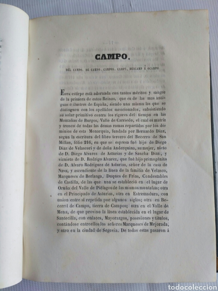 Diccionarios antiguos: Diccionario Histórico Genealógico y Heráldico, D. Luis Vilar y Pascual, 1860 -66. Genealogía. - Foto 25 - 151860282