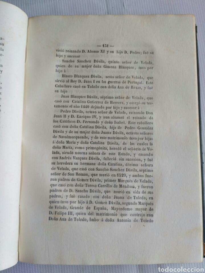 Diccionarios antiguos: Diccionario Histórico Genealógico y Heráldico, D. Luis Vilar y Pascual, 1860 -66. Genealogía. - Foto 26 - 151860282