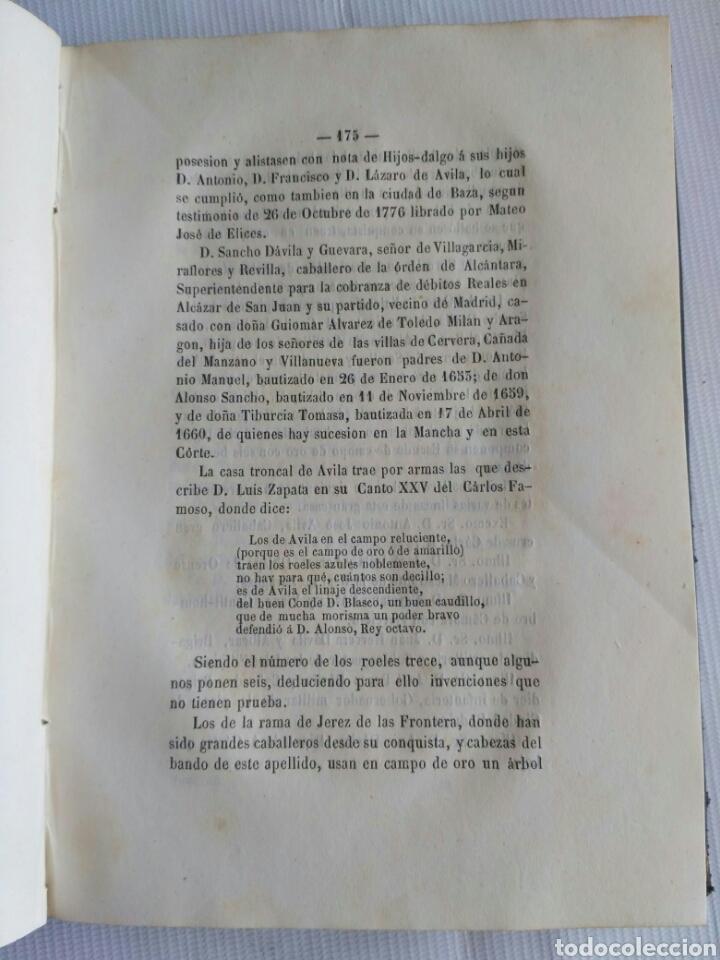 Diccionarios antiguos: Diccionario Histórico Genealógico y Heráldico, D. Luis Vilar y Pascual, 1860 -66. Genealogía. - Foto 29 - 151860282