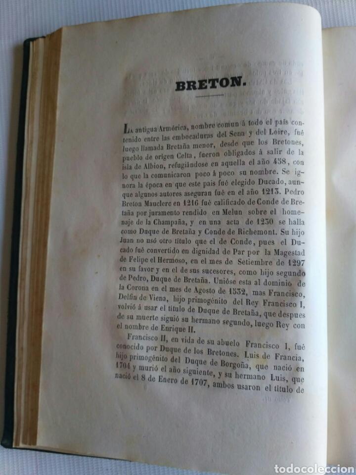 Diccionarios antiguos: Diccionario Histórico Genealógico y Heráldico, D. Luis Vilar y Pascual, 1860 -66. Genealogía. - Foto 31 - 151860282