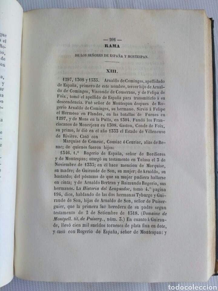 Diccionarios antiguos: Diccionario Histórico Genealógico y Heráldico, D. Luis Vilar y Pascual, 1860 -66. Genealogía. - Foto 33 - 151860282