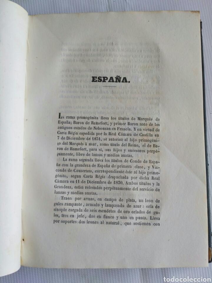 Diccionarios antiguos: Diccionario Histórico Genealógico y Heráldico, D. Luis Vilar y Pascual, 1860 -66. Genealogía. - Foto 32 - 151860282
