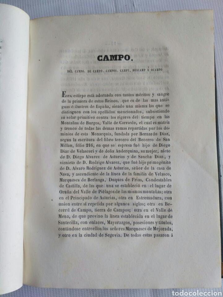 Diccionarios antiguos: Diccionario Histórico Genealógico y Heráldico, D. Luis Vilar y Pascual, 1860 -66. Genealogía. - Foto 34 - 151860282