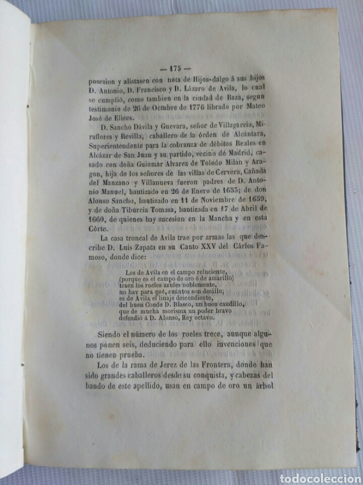 Diccionarios antiguos: Diccionario Histórico Genealógico y Heráldico, D. Luis Vilar y Pascual, 1860 -66. Genealogía. - Foto 40 - 151860282