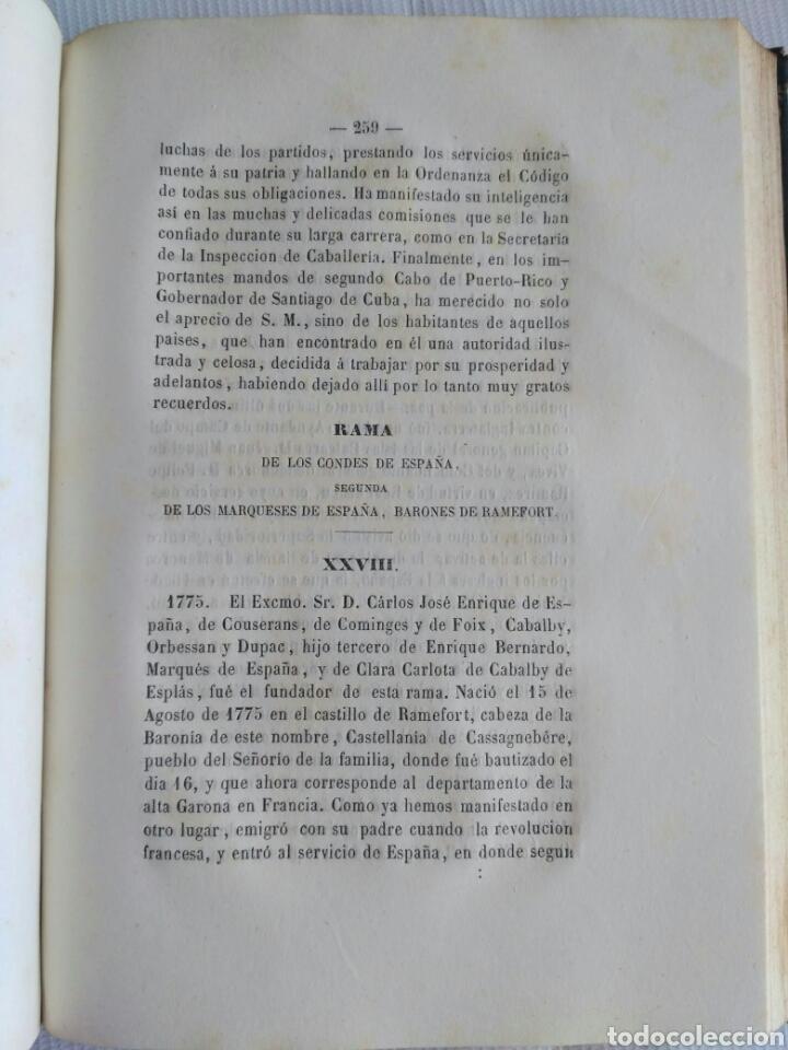 Diccionarios antiguos: Diccionario Histórico Genealógico y Heráldico, D. Luis Vilar y Pascual, 1860 -66. Genealogía. - Foto 41 - 151860282