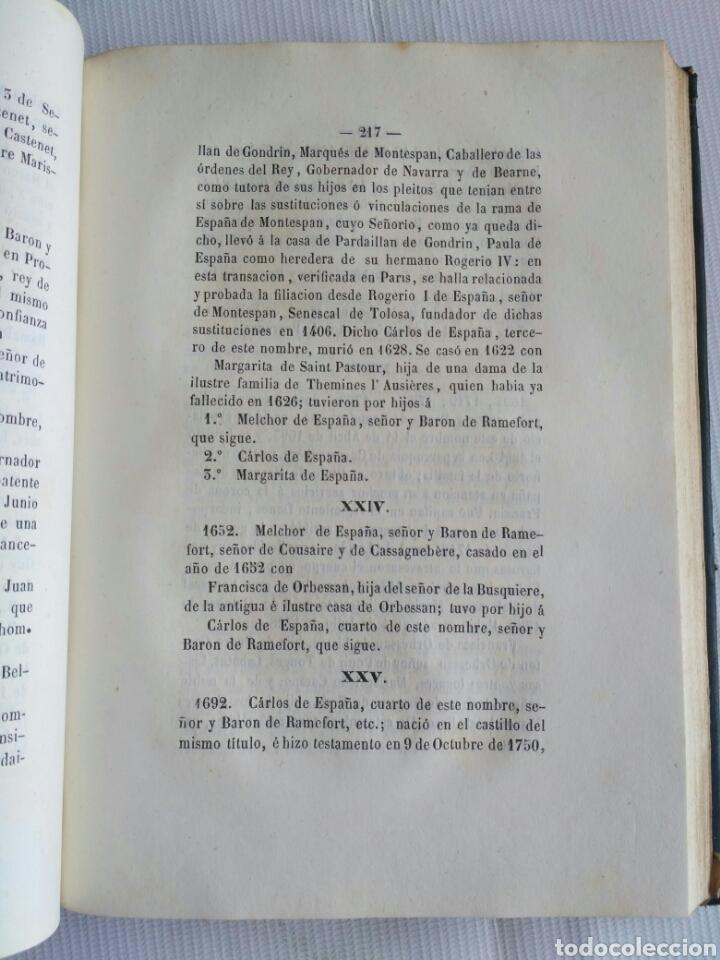 Diccionarios antiguos: Diccionario Histórico Genealógico y Heráldico, D. Luis Vilar y Pascual, 1860 -66. Genealogía. - Foto 49 - 151860282