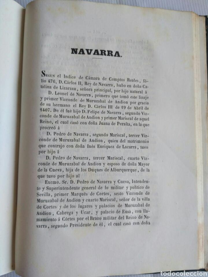 Diccionarios antiguos: Diccionario Histórico Genealógico y Heráldico, D. Luis Vilar y Pascual, 1860 -66. Genealogía. - Foto 55 - 151860282