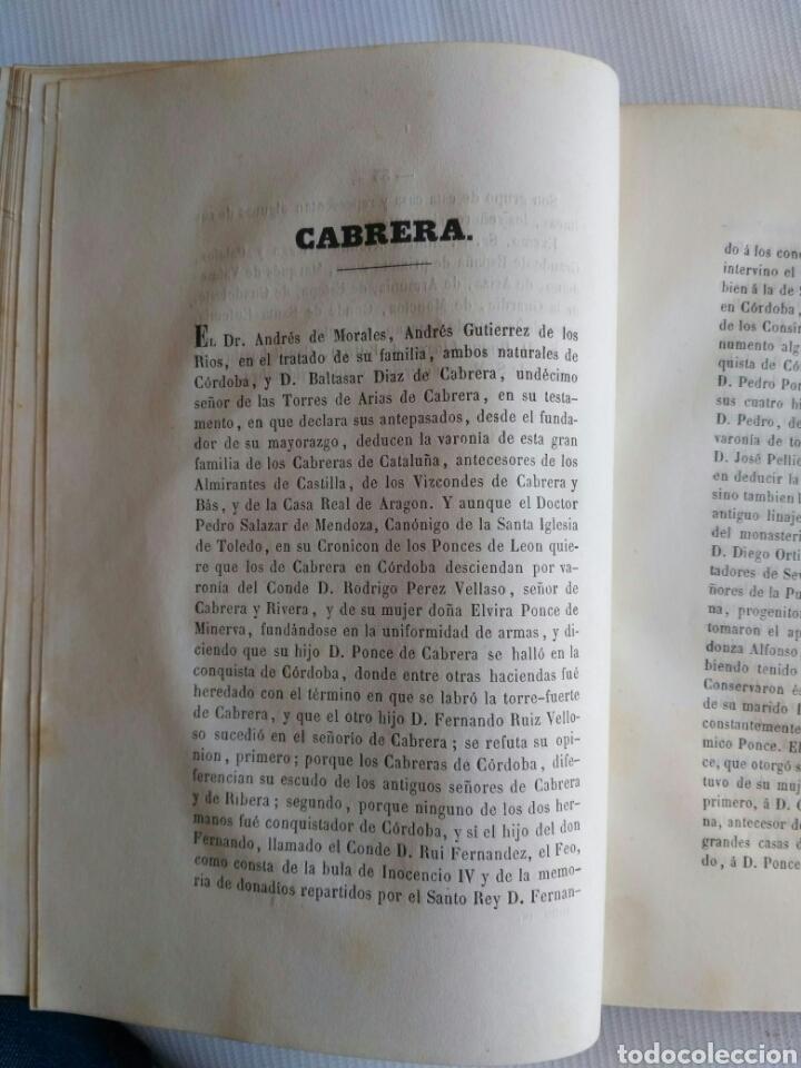 Diccionarios antiguos: Diccionario Histórico Genealógico y Heráldico, D. Luis Vilar y Pascual, 1860 -66. Genealogía. - Foto 74 - 151860282