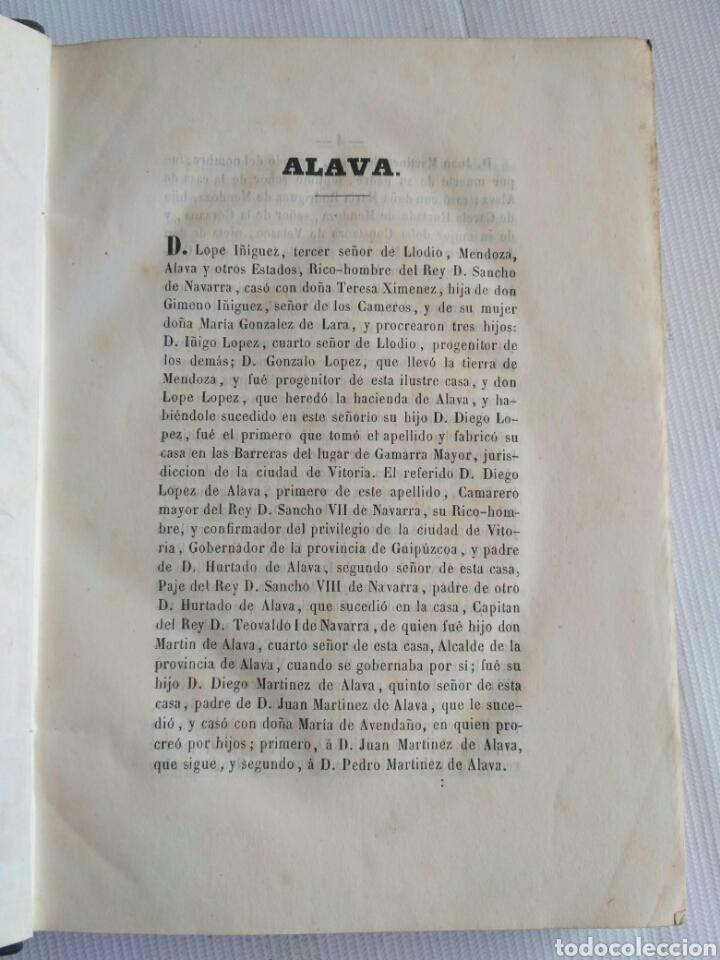 Diccionarios antiguos: Diccionario Histórico Genealógico y Heráldico, D. Luis Vilar y Pascual, 1860 -66. Genealogía. - Foto 79 - 151860282