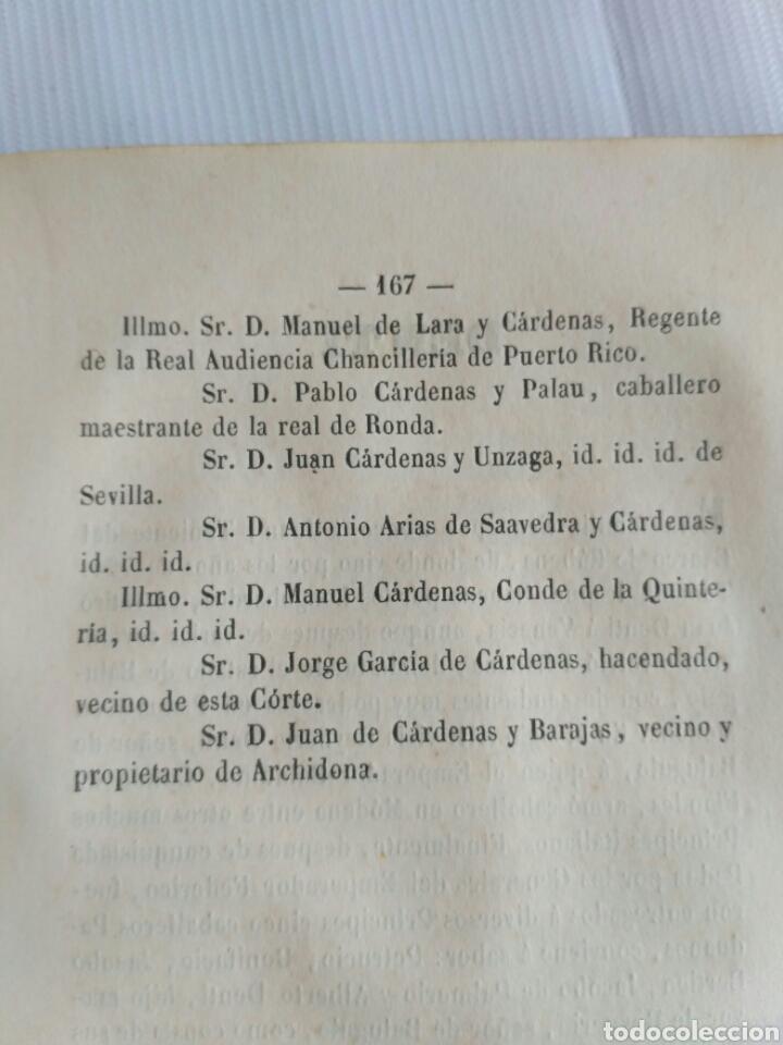 Diccionarios antiguos: Diccionario Histórico Genealógico y Heráldico, D. Luis Vilar y Pascual, 1860 -66. Genealogía. - Foto 92 - 151860282