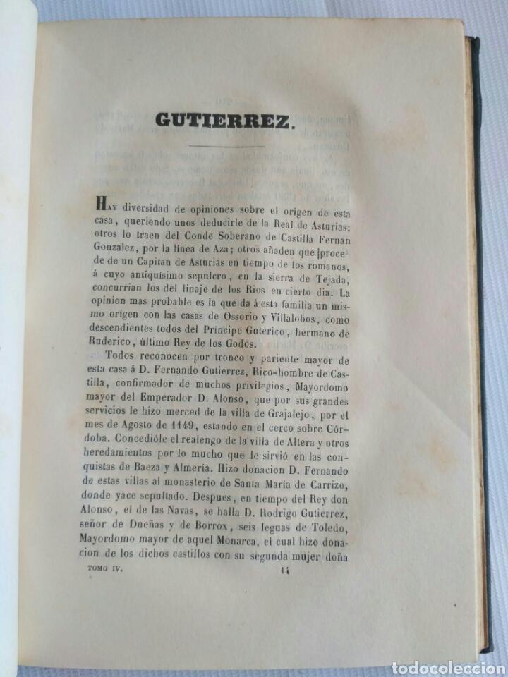 Diccionarios antiguos: Diccionario Histórico Genealógico y Heráldico, D. Luis Vilar y Pascual, 1860 -66. Genealogía. - Foto 93 - 151860282