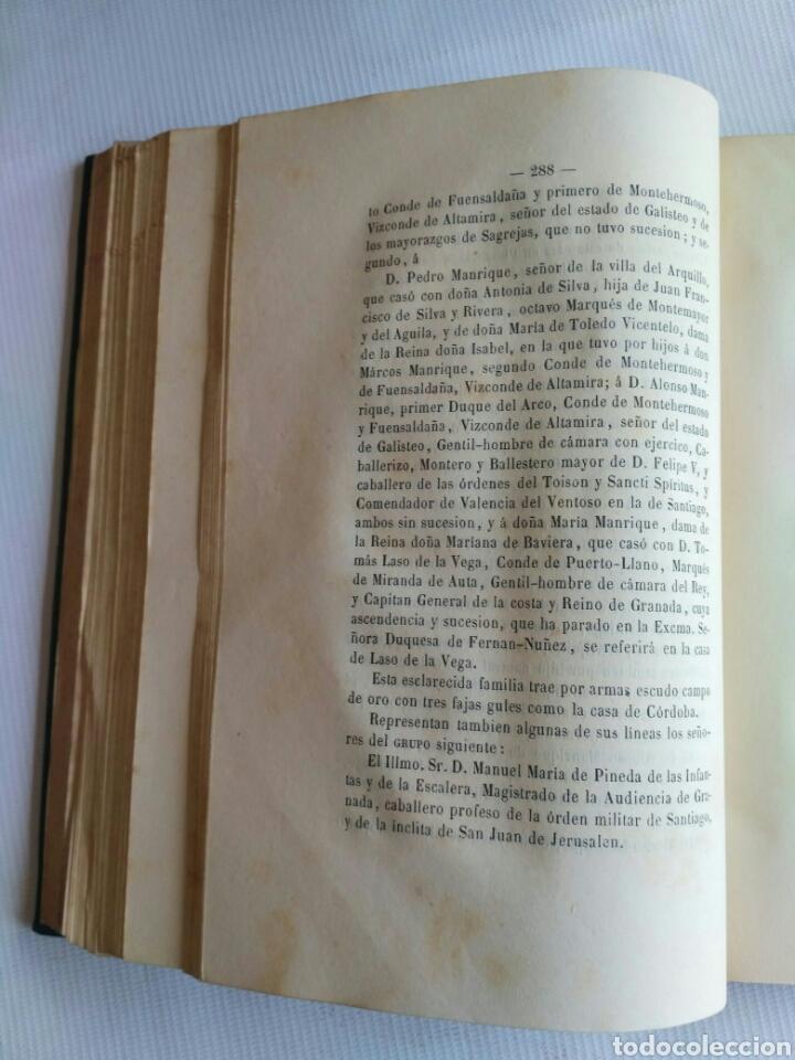 Diccionarios antiguos: Diccionario Histórico Genealógico y Heráldico, D. Luis Vilar y Pascual, 1860 -66. Genealogía. - Foto 96 - 151860282