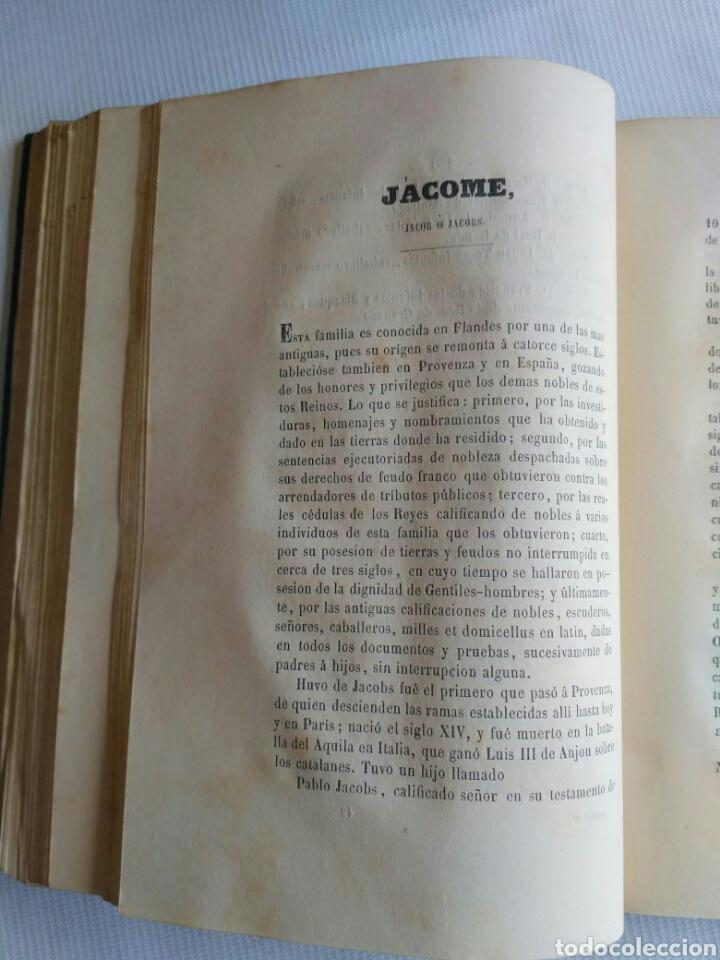 Diccionarios antiguos: Diccionario Histórico Genealógico y Heráldico, D. Luis Vilar y Pascual, 1860 -66. Genealogía. - Foto 99 - 151860282