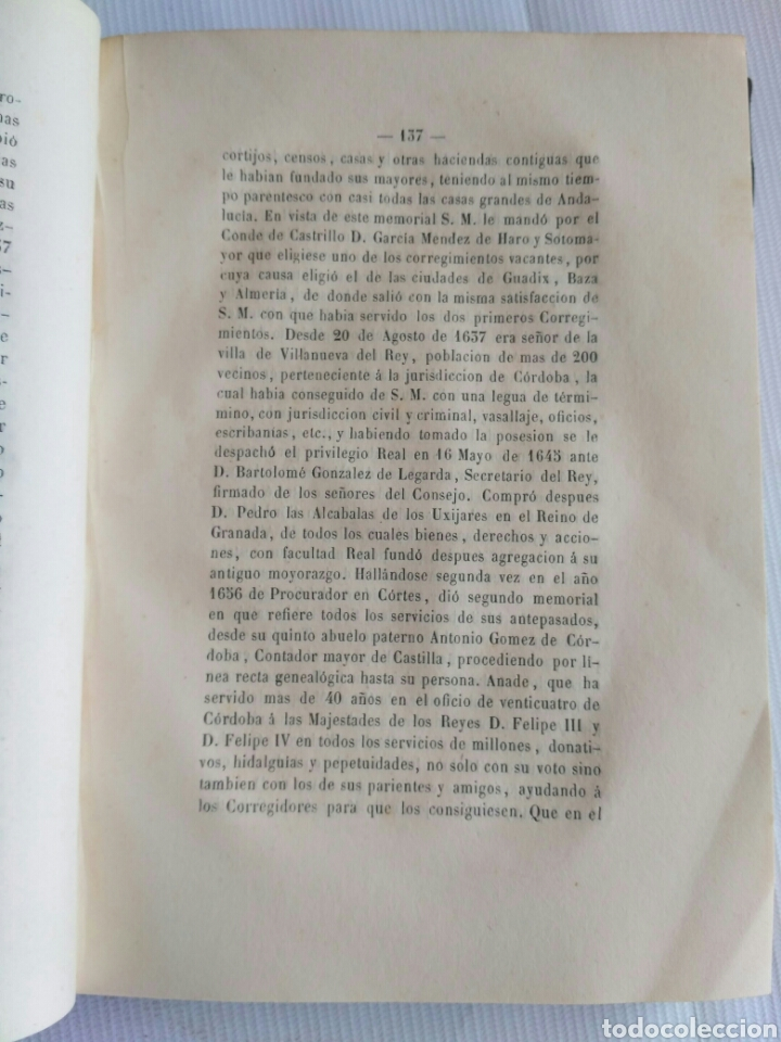 Diccionarios antiguos: Diccionario Histórico Genealógico y Heráldico, D. Luis Vilar y Pascual, 1860 -66. Genealogía. - Foto 100 - 151860282