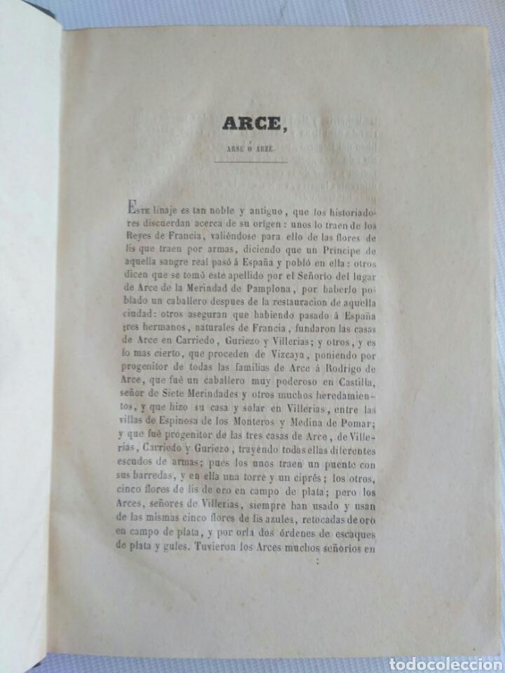 Diccionarios antiguos: Diccionario Histórico Genealógico y Heráldico, D. Luis Vilar y Pascual, 1860 -66. Genealogía. - Foto 132 - 151860282
