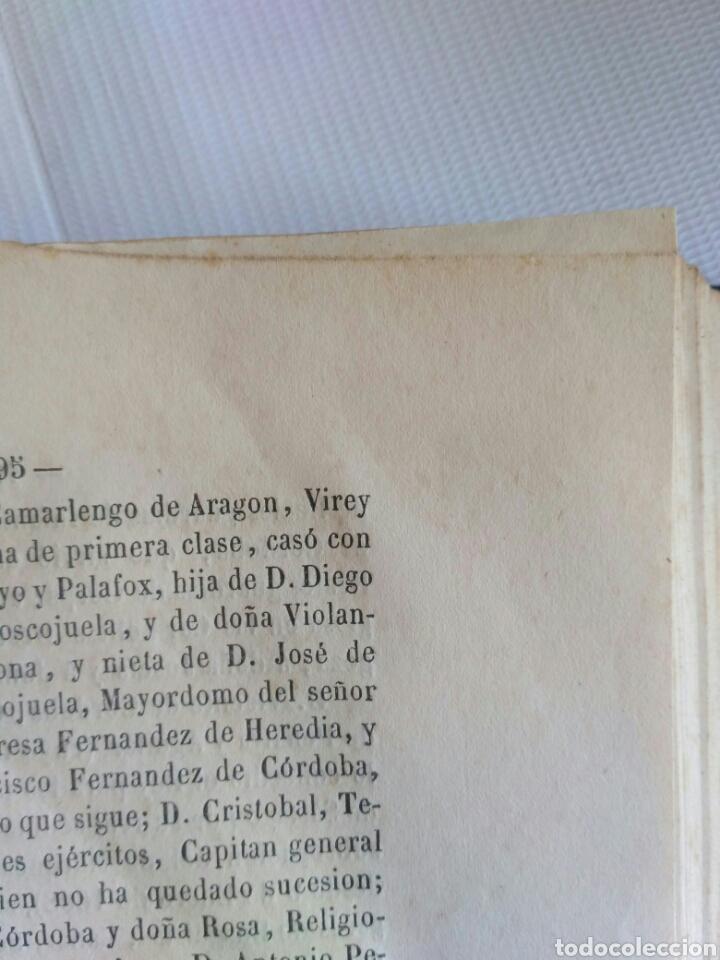 Diccionarios antiguos: Diccionario Histórico Genealógico y Heráldico, D. Luis Vilar y Pascual, 1860 -66. Genealogía. - Foto 150 - 151860282