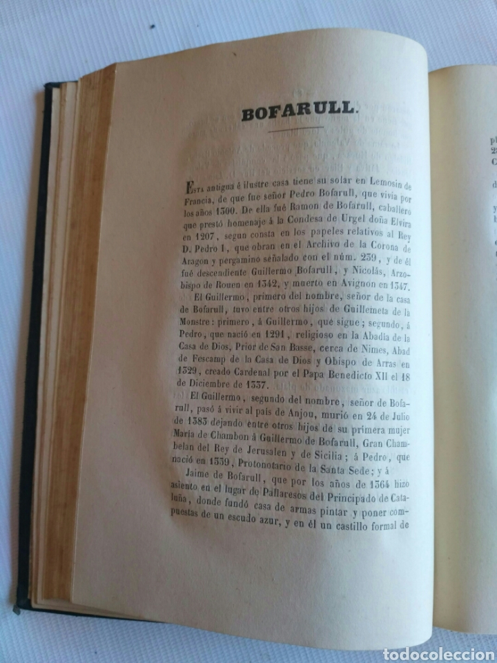 Diccionarios antiguos: Diccionario Histórico Genealógico y Heráldico, D. Luis Vilar y Pascual, 1860 -66. Genealogía. - Foto 152 - 151860282