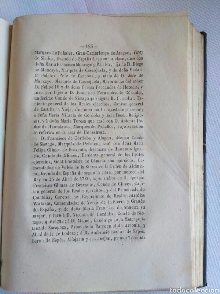 Diccionarios antiguos: Diccionario Histórico Genealógico y Heráldico, D. Luis Vilar y Pascual, 1860 -66. Genealogía. - Foto 160 - 151860282