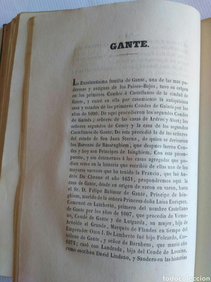 Diccionarios antiguos: Diccionario Histórico Genealógico y Heráldico, D. Luis Vilar y Pascual, 1860 -66. Genealogía. - Foto 169 - 151860282