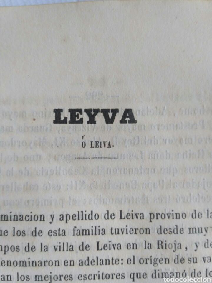 Diccionarios antiguos: Diccionario Histórico Genealógico y Heráldico, D. Luis Vilar y Pascual, 1860 -66. Genealogía. - Foto 171 - 151860282