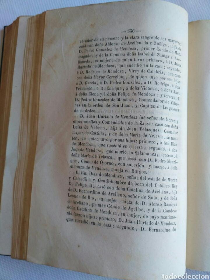 Diccionarios antiguos: Diccionario Histórico Genealógico y Heráldico, D. Luis Vilar y Pascual, 1860 -66. Genealogía. - Foto 174 - 151860282