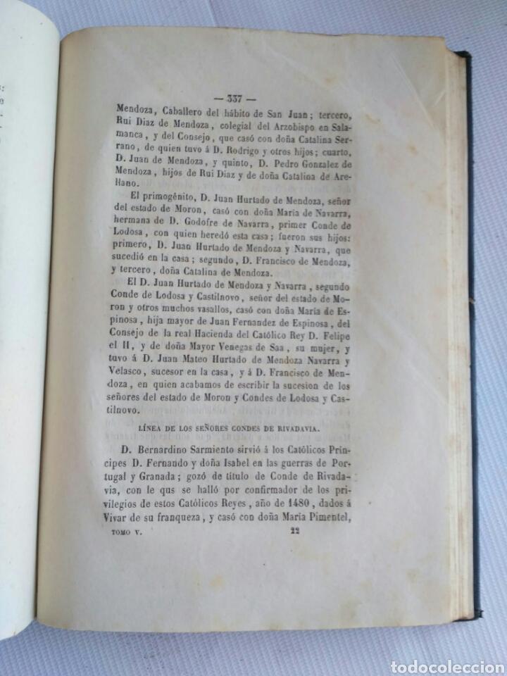 Diccionarios antiguos: Diccionario Histórico Genealógico y Heráldico, D. Luis Vilar y Pascual, 1860 -66. Genealogía. - Foto 177 - 151860282