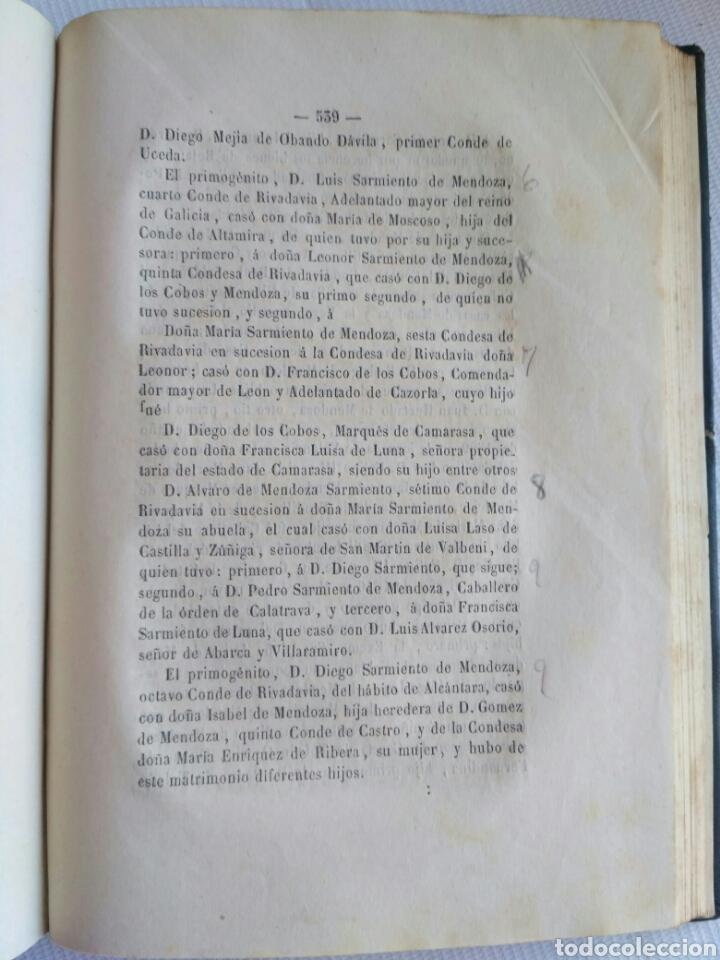 Diccionarios antiguos: Diccionario Histórico Genealógico y Heráldico, D. Luis Vilar y Pascual, 1860 -66. Genealogía. - Foto 179 - 151860282