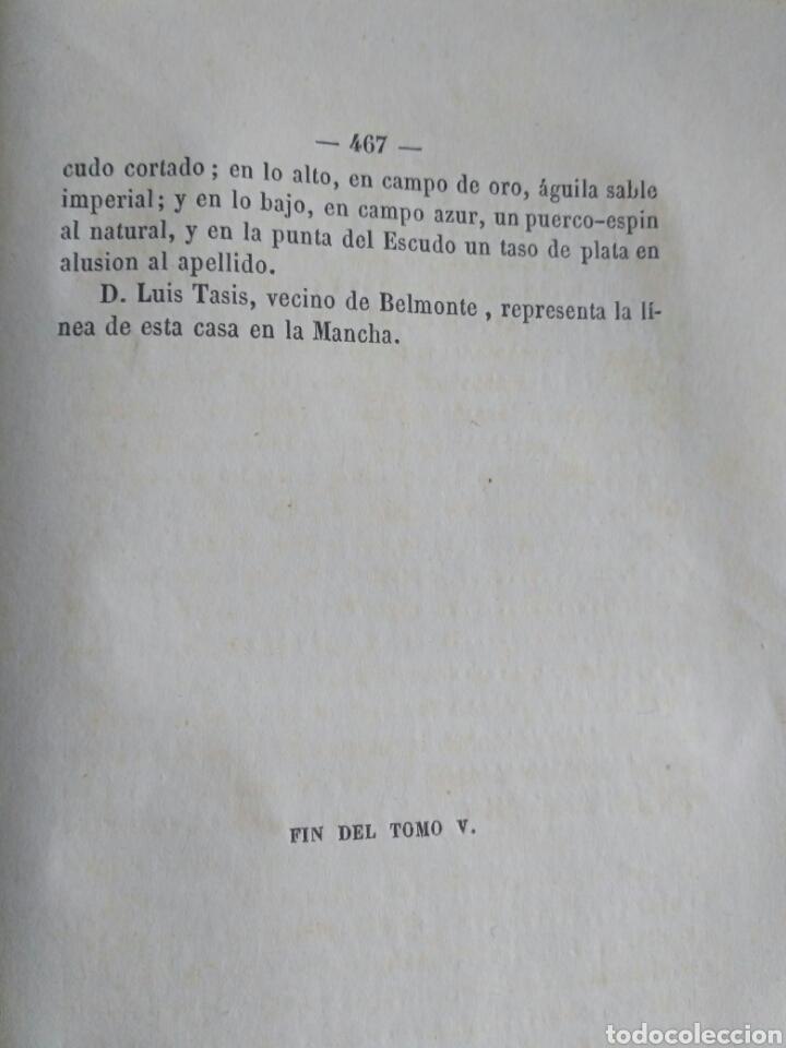 Diccionarios antiguos: Diccionario Histórico Genealógico y Heráldico, D. Luis Vilar y Pascual, 1860 -66. Genealogía. - Foto 188 - 151860282