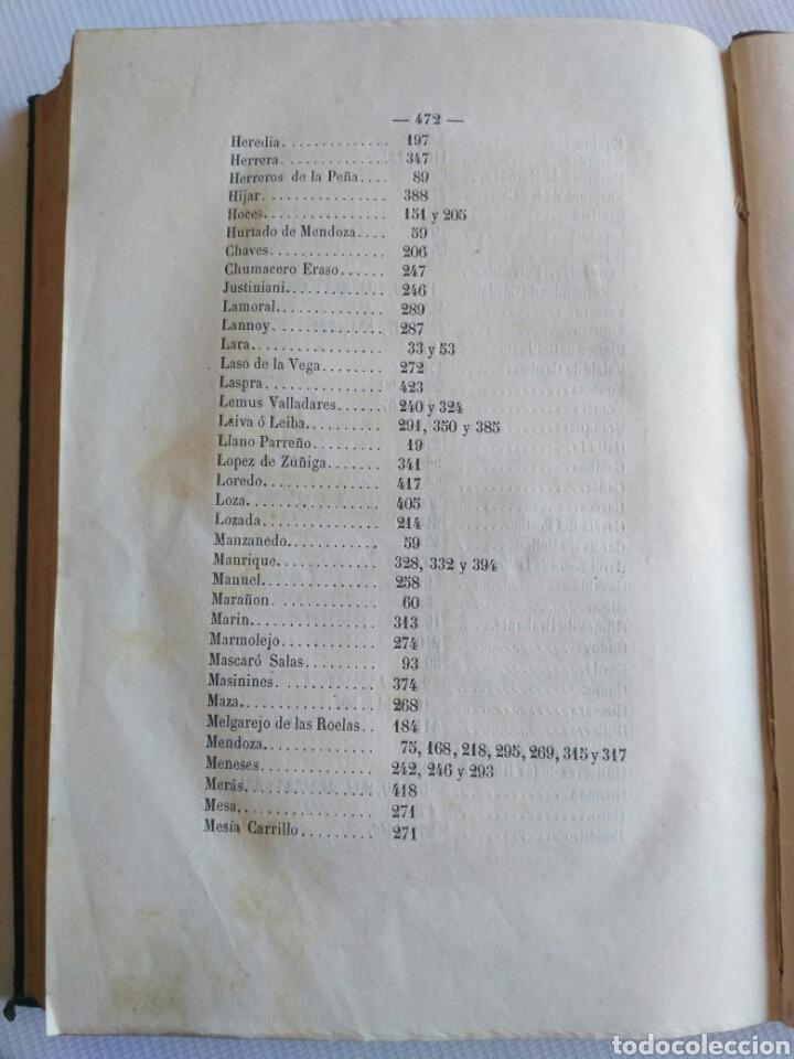 Diccionarios antiguos: Diccionario Histórico Genealógico y Heráldico, D. Luis Vilar y Pascual, 1860 -66. Genealogía. - Foto 203 - 151860282