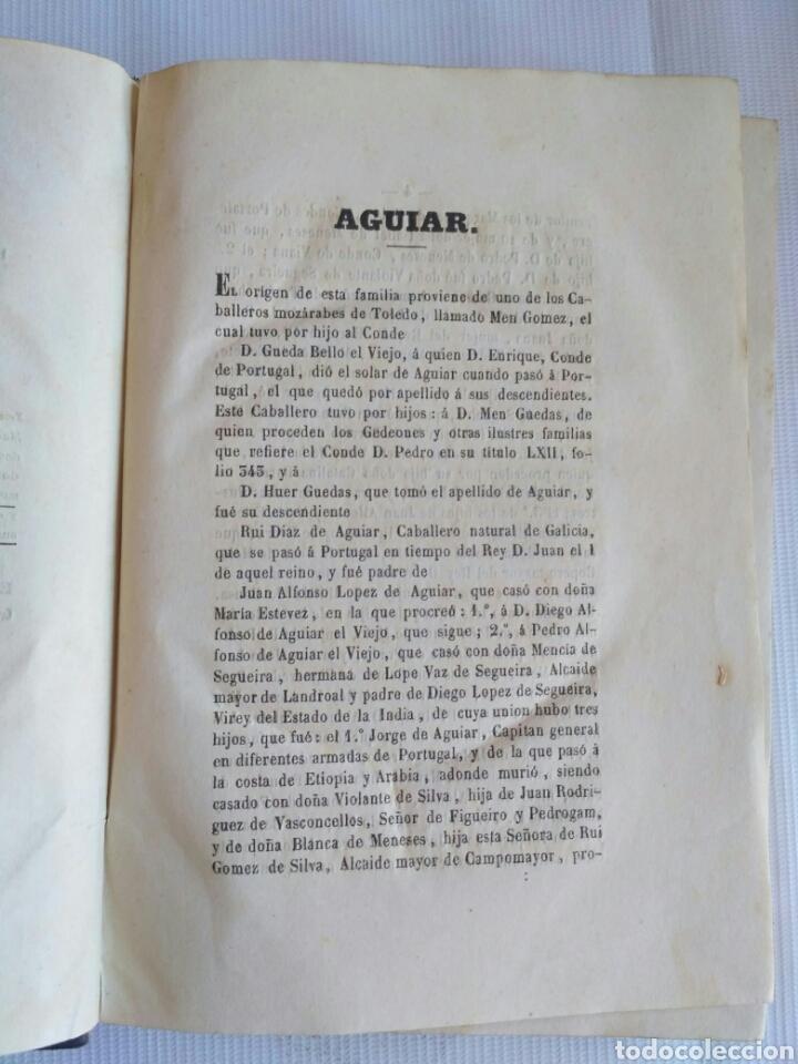 Diccionarios antiguos: Diccionario Histórico Genealógico y Heráldico, D. Luis Vilar y Pascual, 1860 -66. Genealogía. - Foto 208 - 151860282